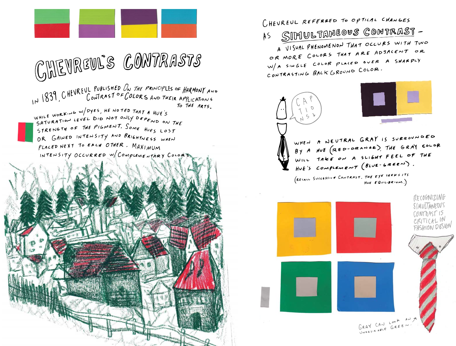 7 Interactions Of Color 2 2 Design Fundamentals Notes On Color