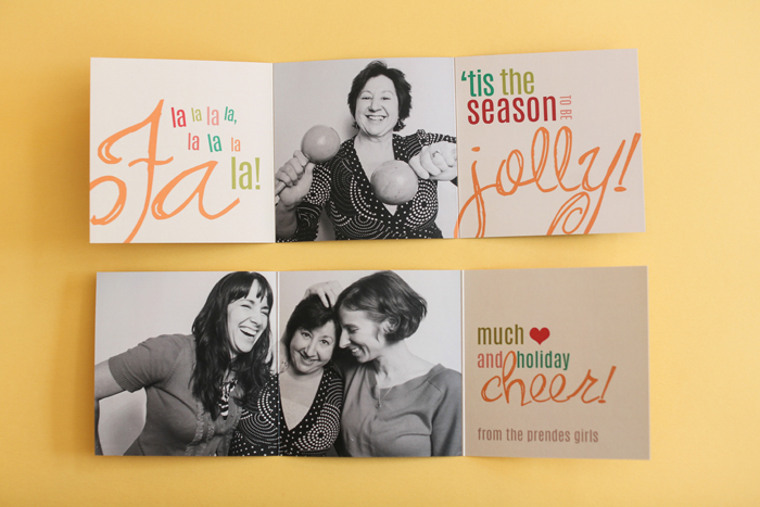 Creating a 5 × 5 Tri-Fold - Design Your Own Holiday Cards: Three DIY ...
