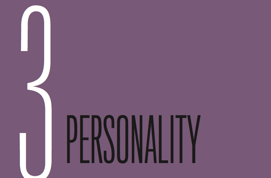 Chapter 3: Personality