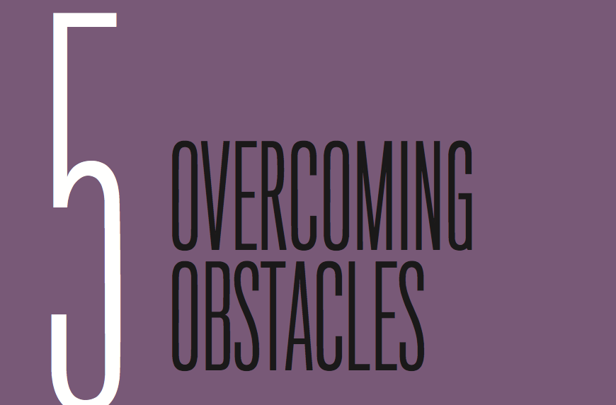 Chapter 5: Overcoming Obstacles