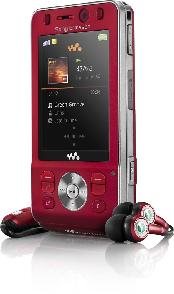 The Sony Ericsson W910i features a three-axis accelerometer, which is used in its shake control feature to change song tracks. Users just shake the phone to change the track being played. Courtesy Sony Ericsson.