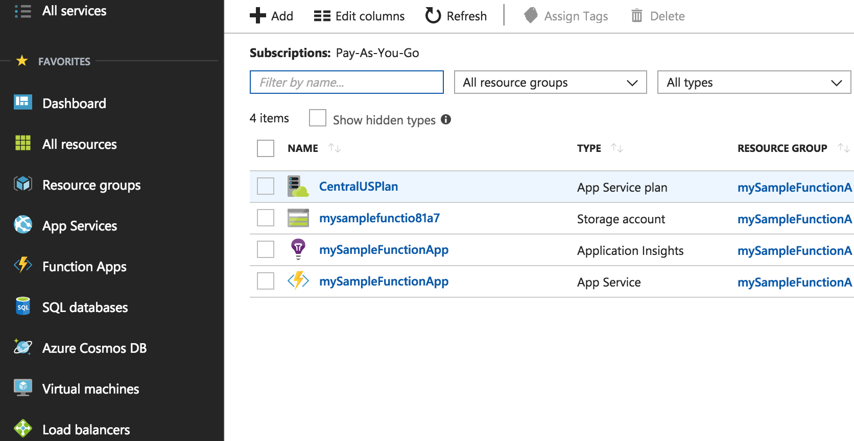 Setting up a continuous deployment Azure deployment tool