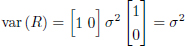 Numbered equation