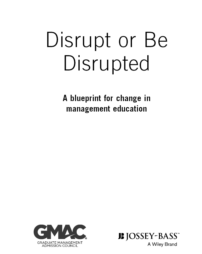 Title page disrupt or be disrupted a blueprint for change in with safari you learn the way you learn best get unlimited access to videos live online training learning paths books interactive tutorials and more malvernweather Images