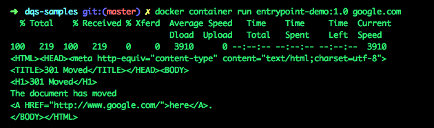 The ENTRYPOINT instruction - Docker Quick Start Guide [Book]