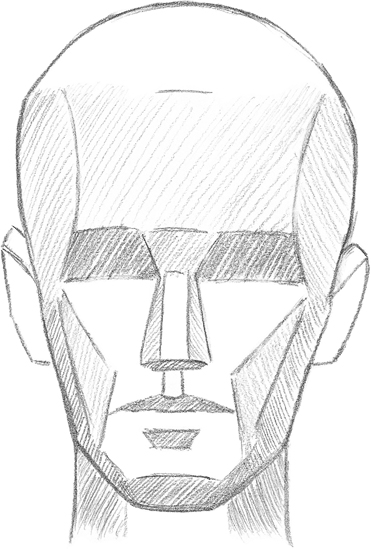 Learning The Planes Of The Face Drawing Faces Features Book