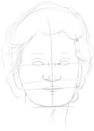 Depicting Age Drawing Faces Features Book