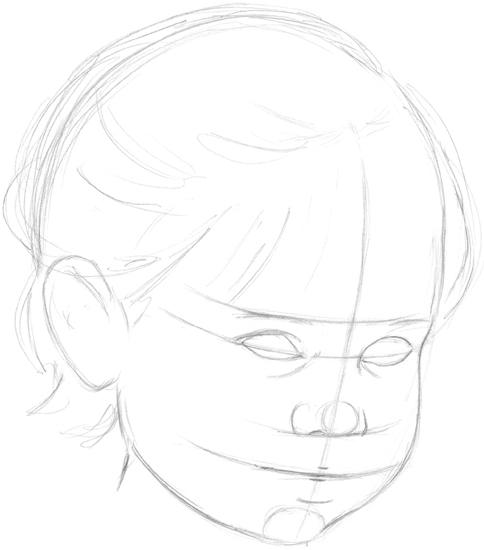 Portraying Childrens Features Drawing Faces Features Book