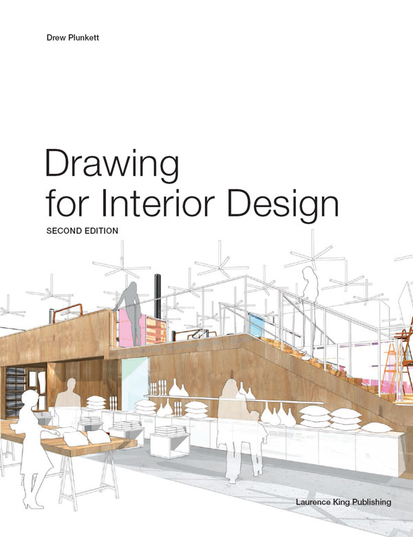 Title Page Drawing For Interior Design 2nd Edition Book
