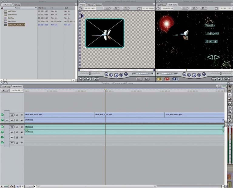 Compositing stills and video in Final Cut Pro