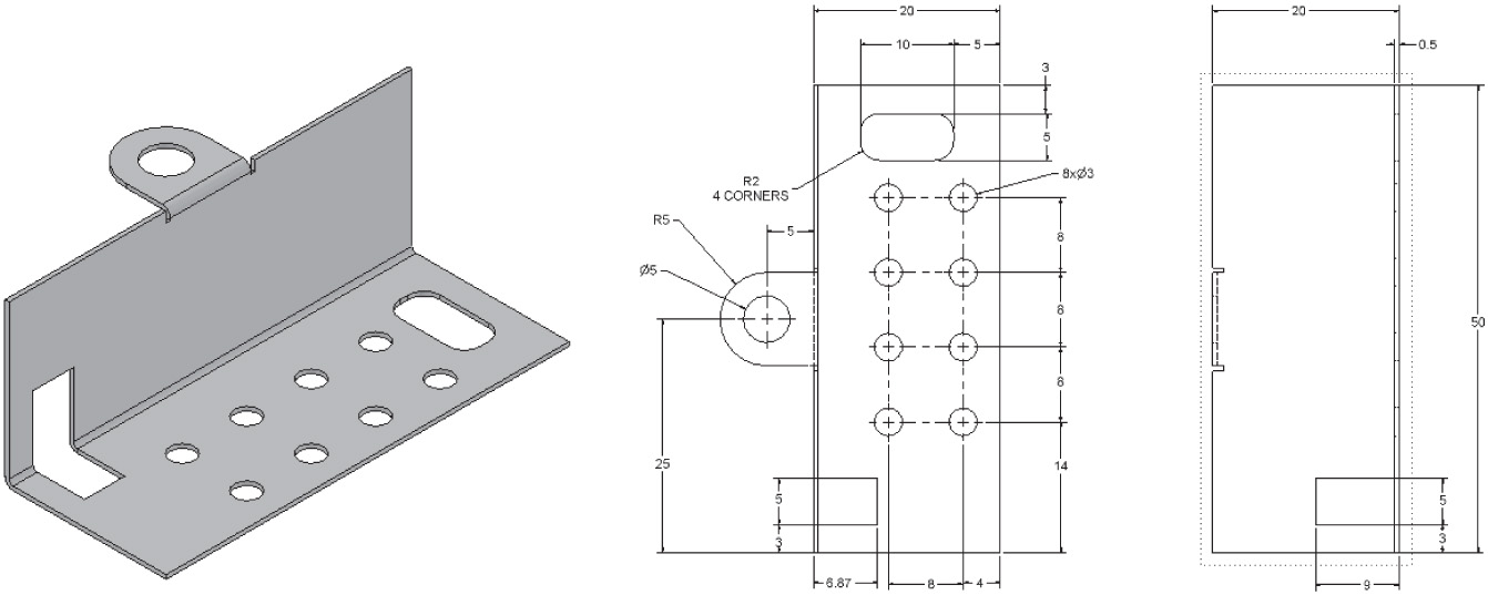Chapter 13 Sheet Metal Drawings Engineering Design Graphics With
