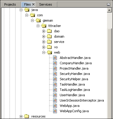 Creating the request handlers