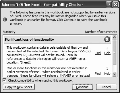 1  Creating and Navigating Worksheets - Excel 2007: The Missing