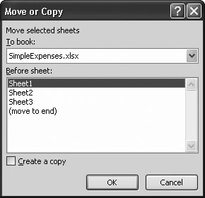 4  Managing Worksheets and Workbooks - Excel 2007: The