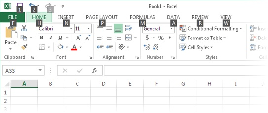 1  Creating Your First Spreadsheet - Excel 2013: The Missing Manual