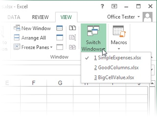 1  Creating Your First Spreadsheet - Excel 2013: The Missing