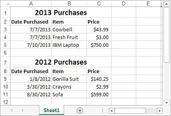 An Excel File That Contains One Or More Worksheets - Worksheet