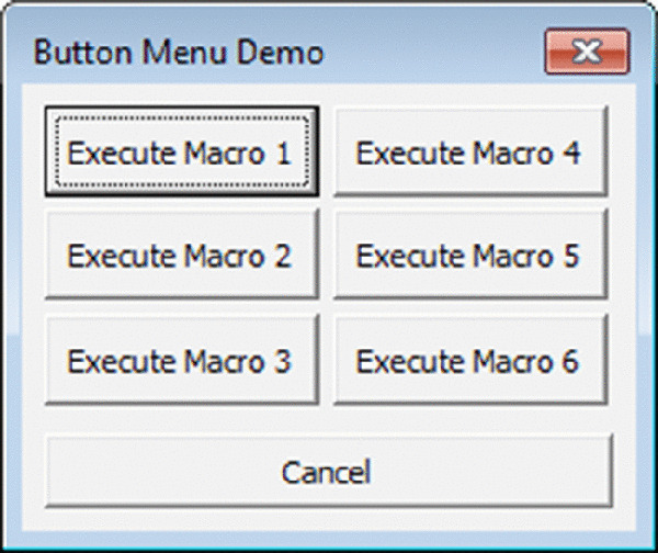 Chapter 14: UserForm Examples - Excel 2016 Power Programming