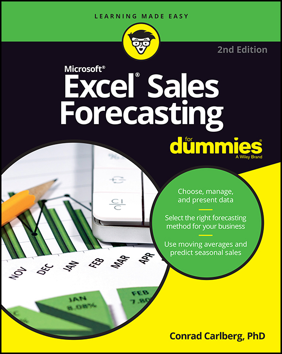 Cover - Excel Sales Forecasting For Dummies, 2nd Edition [Book]
