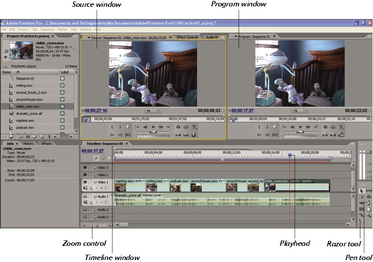 40  Editing Your Video Podcast with Adobe Premiere - Expert