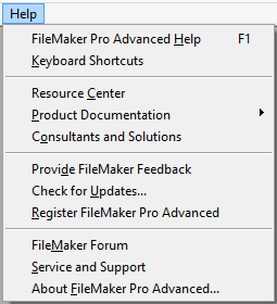 1  Working with Your Database - FileMaker Pro 14: The Missing Manual