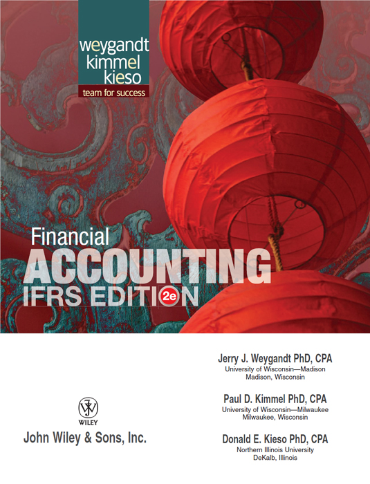 Title Page - Financial Accounting, IFRS Edition: 2nd Edition