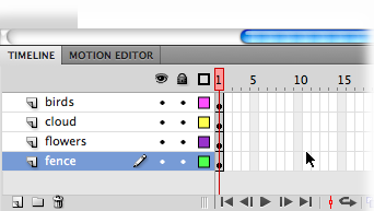 how to add layers in flash cs6