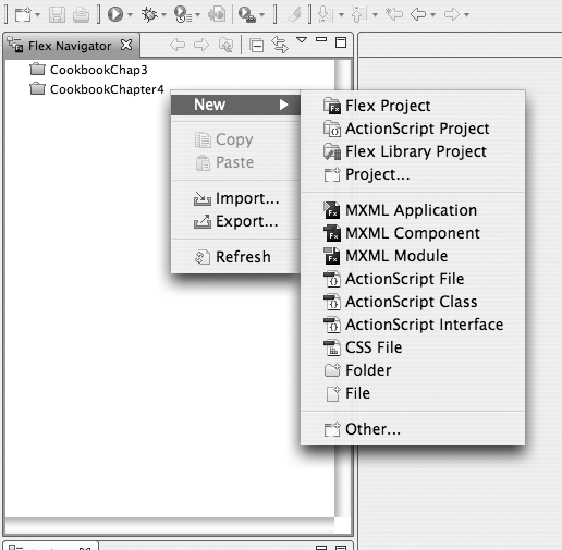 Creating a Flex Library project