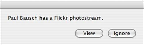 AppleScript prompt to view a contact's photostream