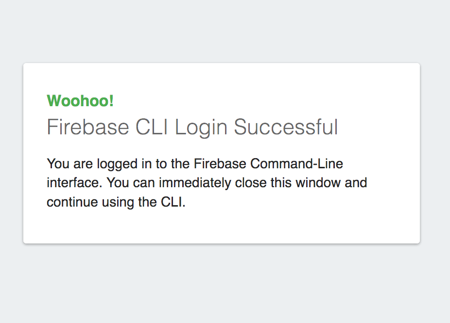 Logging in to Firebase on the command line - Full Stack Web
