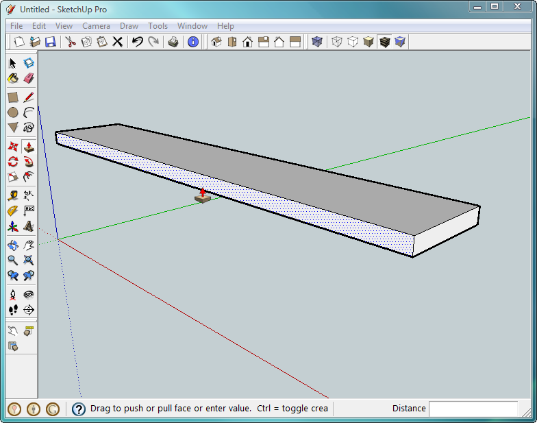 how to make an object follow a path in sketchup