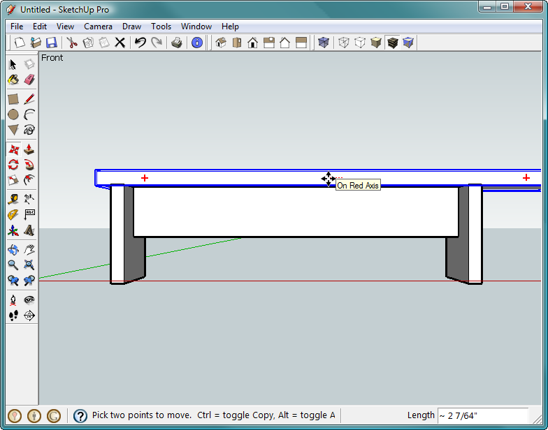 1 Building A Bench Your First Sketchup Model Google Sketchup The Missing Manual Book