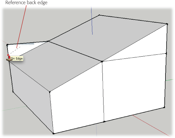 4 Drawing A Basic House Google Sketchup The Missing