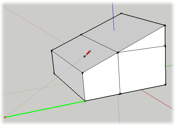 4. Drawing a Basic House - Google SketchUp: The Missing ...