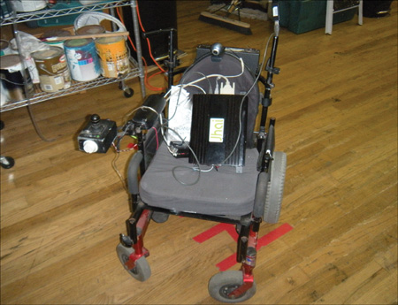 Project 24: Wheelchair Robot - Hack This: 24 Incredible