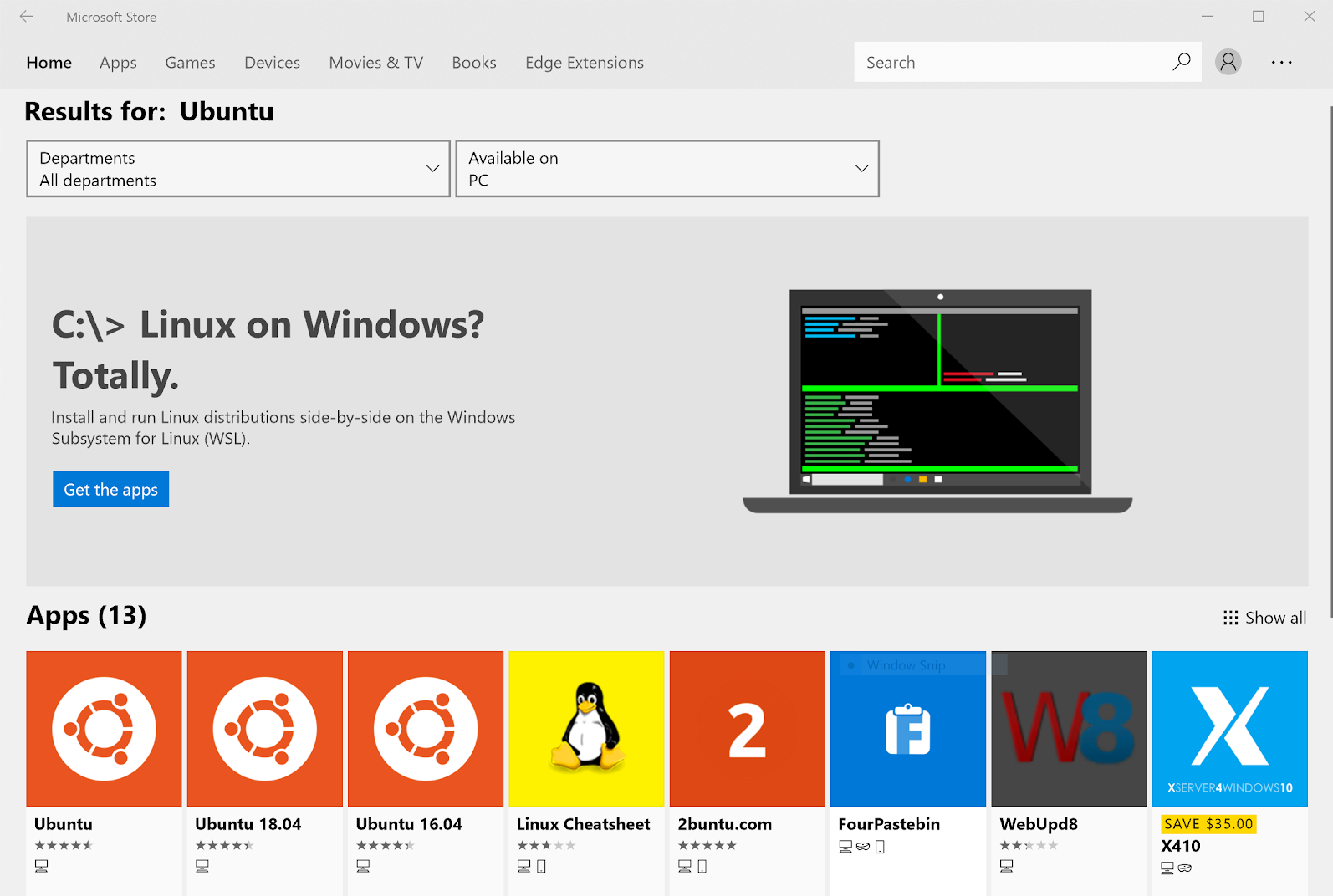 Getting set up with Windows 10 - Hands-On Data Science with the