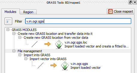 Importing vector data in GRASS - Hands-On Geospatial Analysis with R