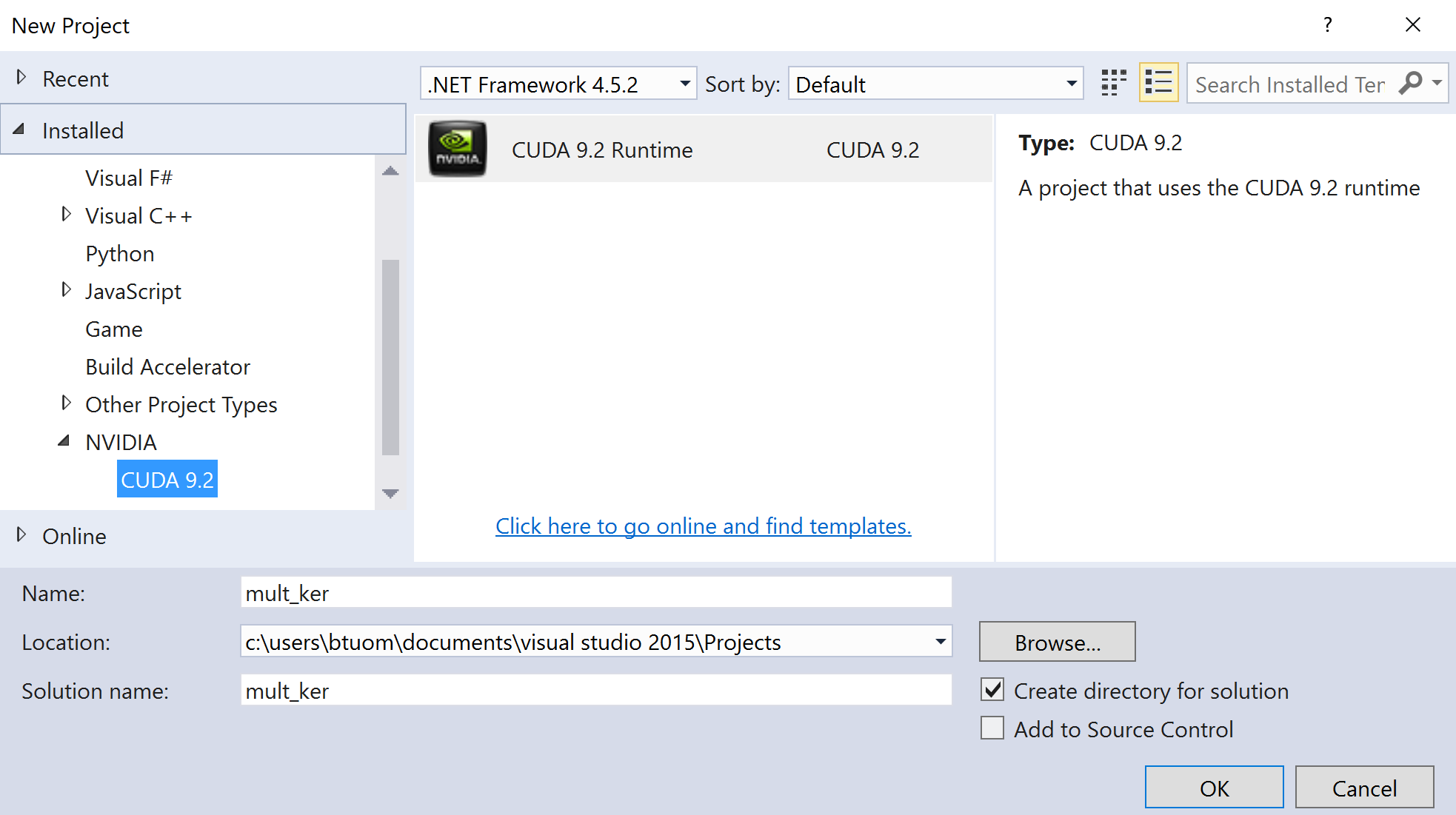 Using Nsight with Visual Studio in Windows - Hands-On GPU