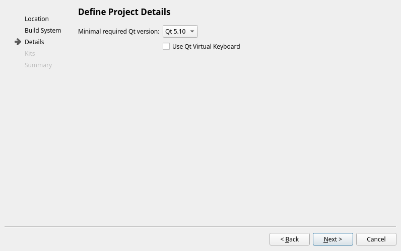 Setting up the project - Hands-On GUI Programming with C++