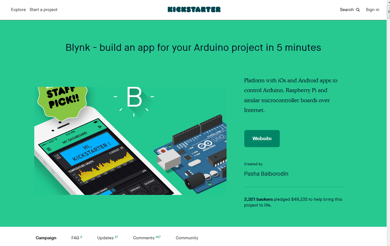What is Blynk? - Hands-On Internet of Things with Blynk [Book]