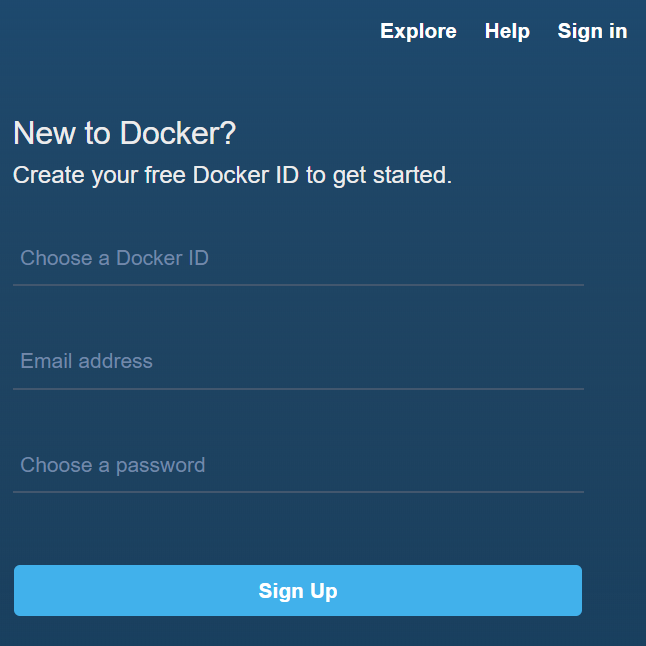 Creating an account on Docker Hub - Hands-On Microservices with