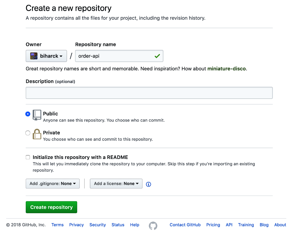 Adding the code to GitHub - Hands-On RESTful Web Services