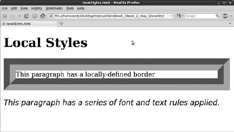 This page has styles, but they're defined in a new way.