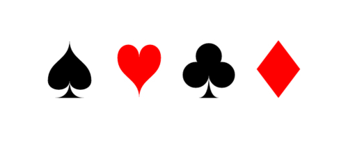 Creating custom shape functions: playing card suits