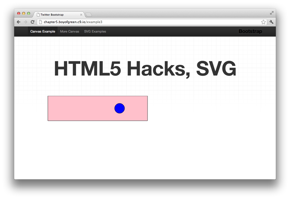 4  Hacking Your Graphics with Canvas and SVG - HTML5 Hacks [Book]