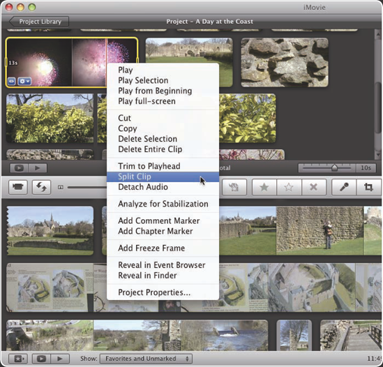 4  Do You Have Tips for Fine-Tuning Edits? - iMovie® '09 and