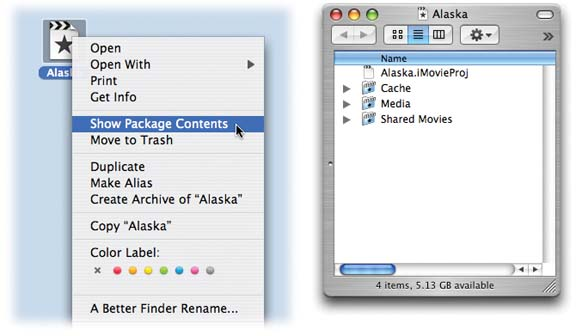 How iMovie Organizes Its Files - iMovie 6 & iDVD: The Missing Manual