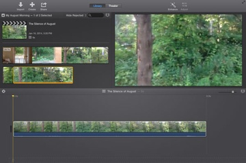 4  Projects - iMovie: The Missing Manual [Book]