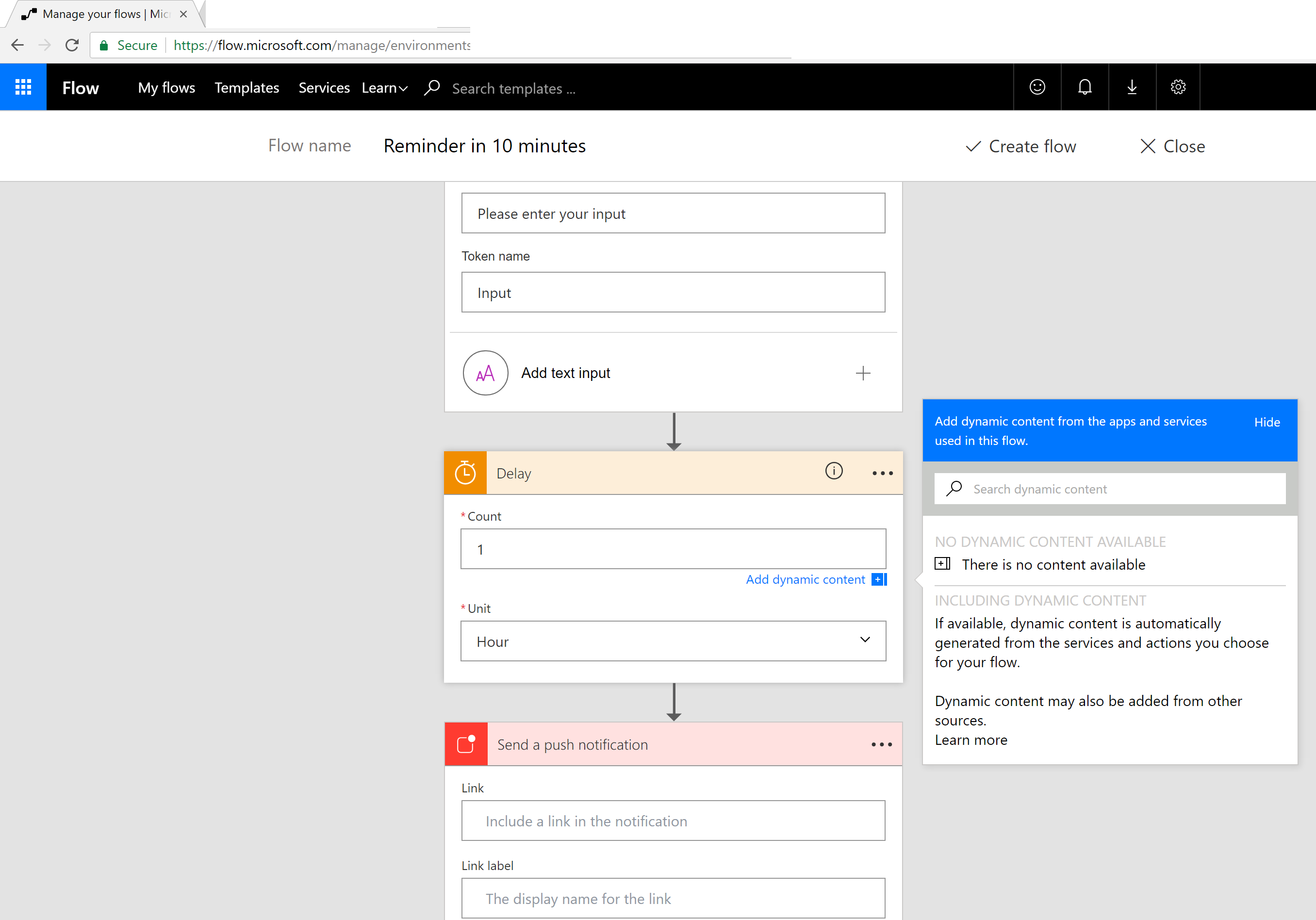 Microsoft Flow - Implementing Microsoft Dynamics 365 for Finance and