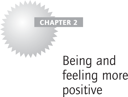Being and feeling more positive